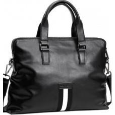 Мужская сумка из кожи черного цвета Royal 021A-1U