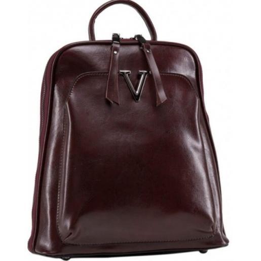 Рюкзак женский кожаный Horton-BP3 Кофейный