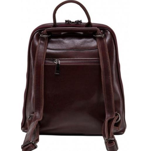 Рюкзак женский кожаный Horton BP3 коричневый