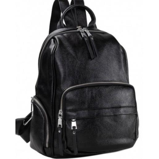 Женский рюкзак из кожи Olivia29A-BP Черный