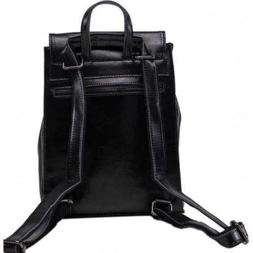 Женский рюкзак кожаный Grays 806A-BPU Черный