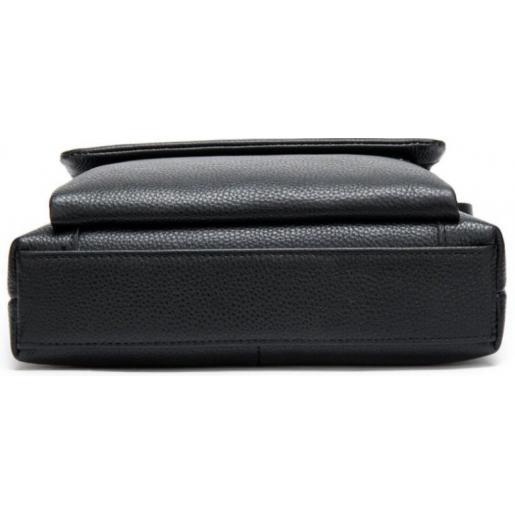 Мужская кожаная сумка A25-1278AU Черный