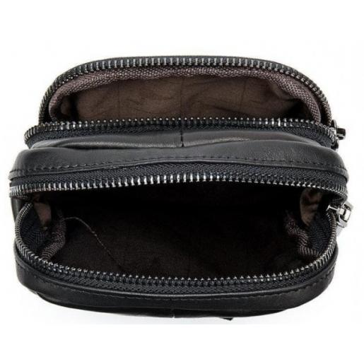 Мужская сумка из кожи 20016U Чёрный