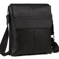 Кожаная мужская сумка A25-064AU Черный