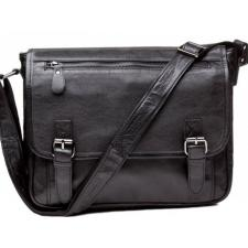 Кожаная мужская сумка Tiding 6046U Черный