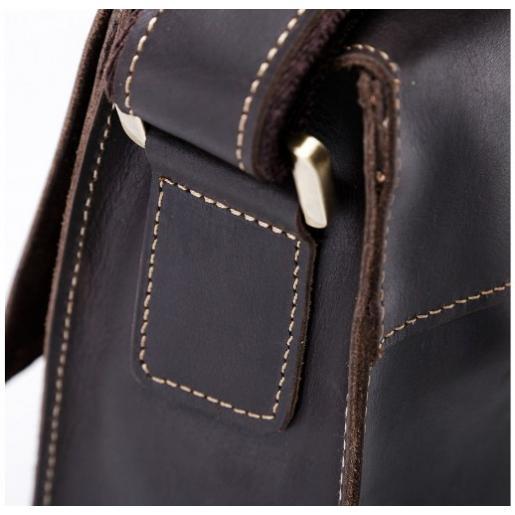 Мужская кожаная сумка на плечо Bexhill 1050U Коричневый