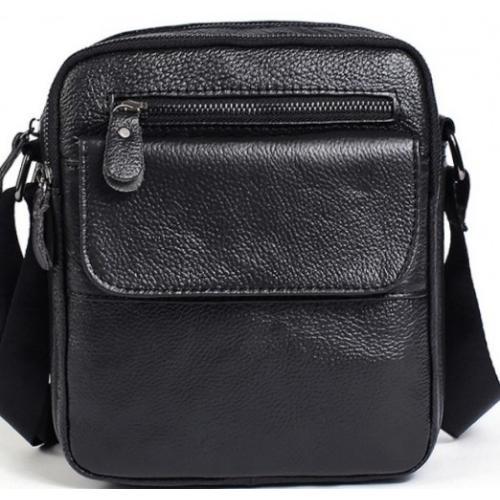 Мужская сумка из кожи A25-1108AU Черный