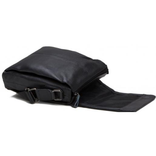 Кожаная сумка мужская A25-8871AU Черный