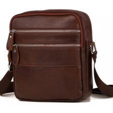 Кожаная сумка мужская M38-3923CU Коричневый