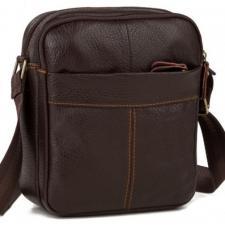 Мужская кожаная сумка M38-1025U Коричневый