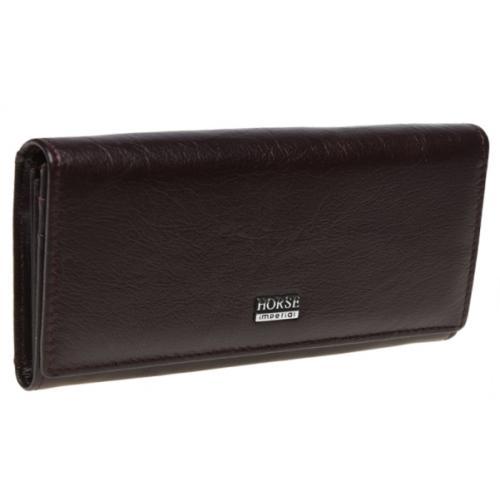 Кожаный женский кошелек BD00-01 Бордовый