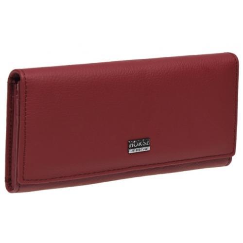 Женский кожаный кошелек BD00-01 Красный