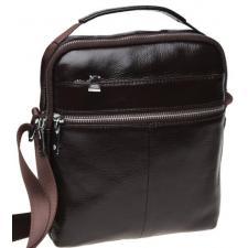 Мужская кожаная сумка K16013 Коричневый