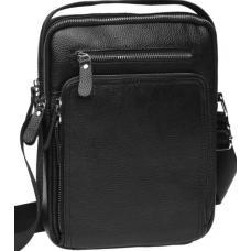 Мужская сумка из кожи K15608 Черный