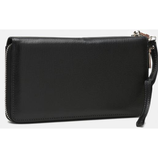Мужской кожаный клатч RG11-27-black