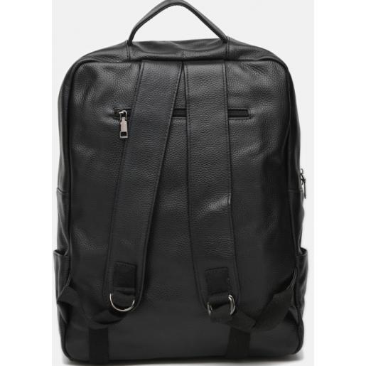 Мужской кожаный рюкзак POLO Vicuna K5-44 black