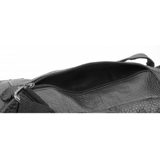 Мужской кожаный рюкзак Leather BL10-17 black