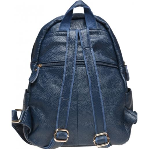Женский рюкзак из кожи Keizer K1339N Синий