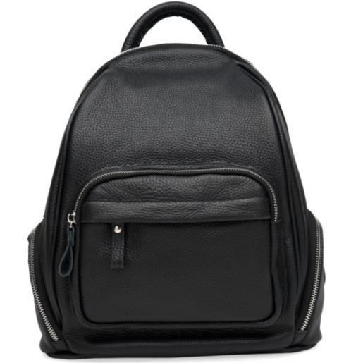 Женский кожаный рюкзак Natural Leather 1L976OK-1 Черный