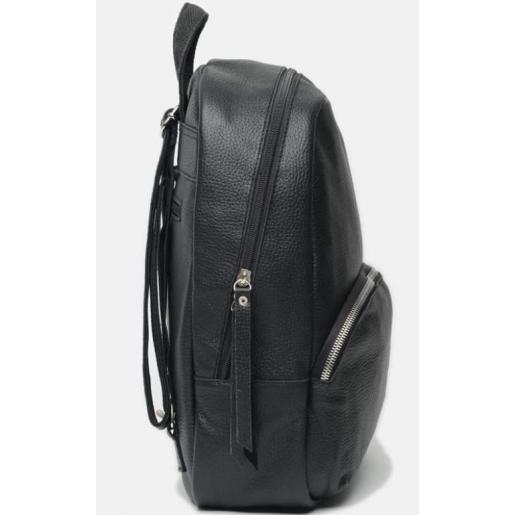 Кожаный женский рюкзак Horton BR658-1 Black