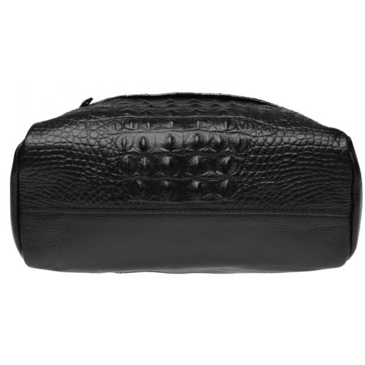 Женский кожаный рюкзак Keizer K111085N Черный