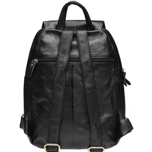 Женский кожаный рюкзак Keizer K1322N Черный