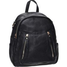 Рюкзак кожаный женский Keizer K1182N Черный