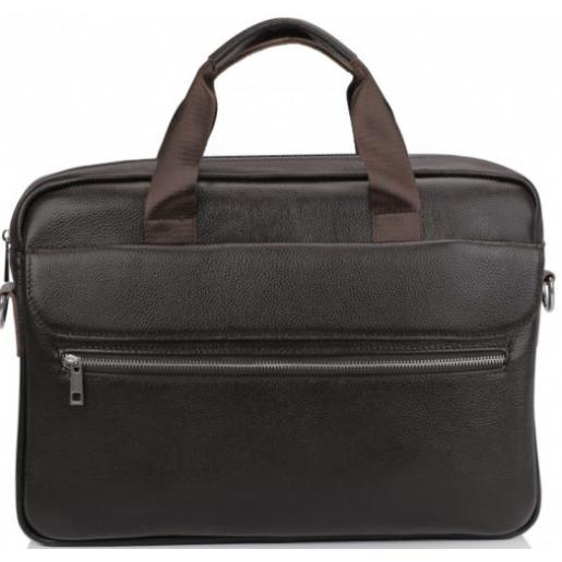 Кожаная сумка для ноутбука Eterno 1127CU Коричневый