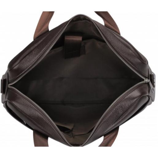 Кожаная мужская сумка Eterno 1128CU Коричневый