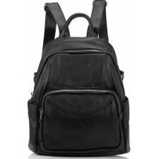 Женский кожаный рюкзак Olivia ASD132-56W черный