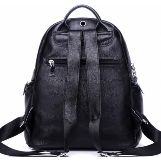 Женский кожаный рюкзак черный U7757A-BP