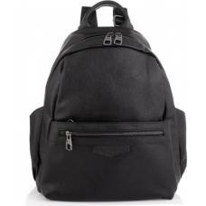 Женский кожаный рюкзак Casual ASD184-68W Black
