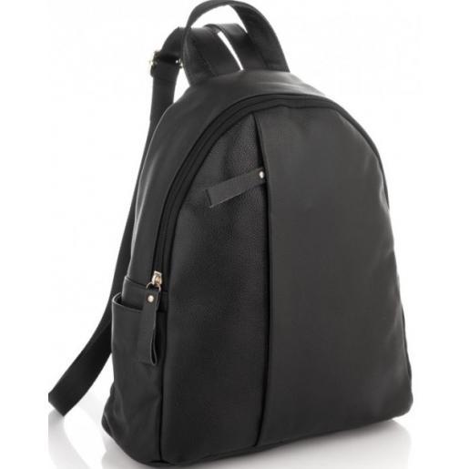 Сумка - рюкзак из натуральной кожи 00U9 черный
