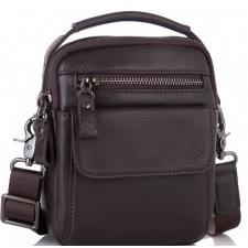 Мужская кожаная сумка - барсетка 8852CU
