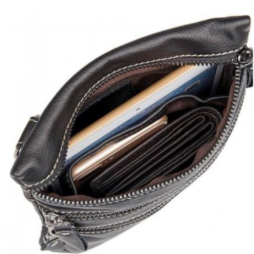 Мужская кожаная сумка на плечо Vintage 14555U