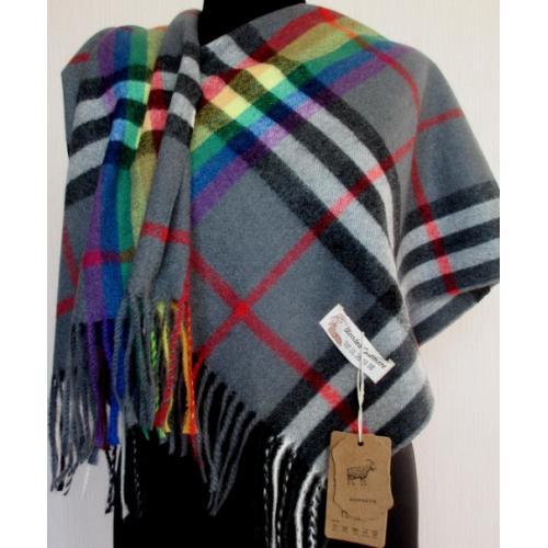 Женский теплый шарф TP426-1 Серый