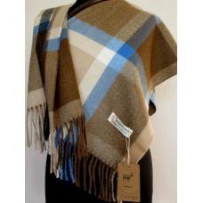 Теплый кашемировый шарф TP428-7 Коричневый