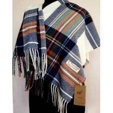 Женский кашемировый шарф TP430-10 Синий