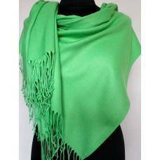Женский палантин из кашемира PASH74T Зеленый