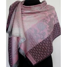 Кашемировый палантин для женщин 356T Розовый
