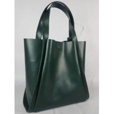 Женская кожаная сумка шоппер Diana&An 79-3 Green
