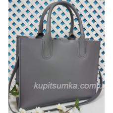 Женская кожаная сумка Nicoletta 30AE-2 Серый