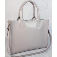Женская кожаная сумка серая Nicoletta 30AE-39