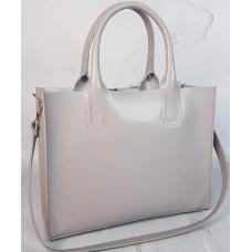 Женская кожаная сумка Nicoletta 30AE-39 Grey