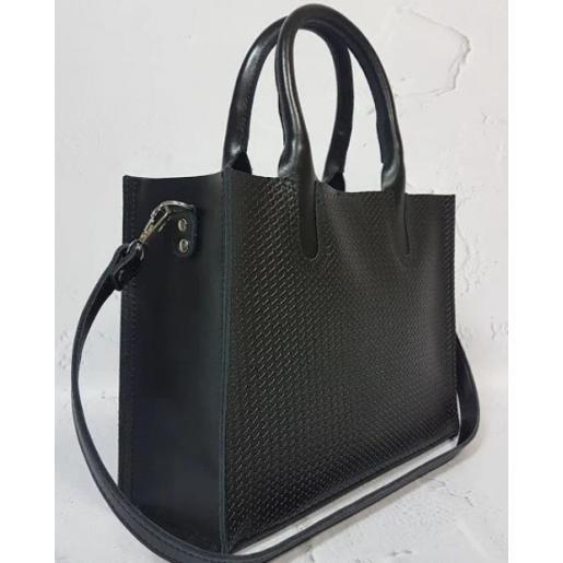Женская кожаная сумка Nicoletta 30AE-16 Черный