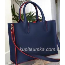 Женская кожаная сумка Nicoletta 30AE-5 blue