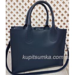 Женская кожаная сумка Nicoletta AE-30-9 Синий