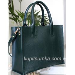 Женская кожаная сумка Nicoletta AE-30-11 Зеленый