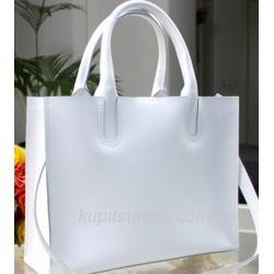 Женская кожаная сумка Nicoletta AE-30-12 Белый