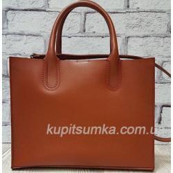 Женская кожаная сумка Nicoletta 30AE-8 Кэмел